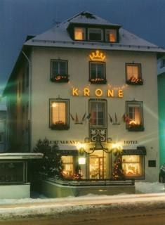Hotel Krone im Winter